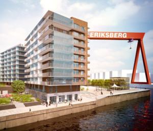 Projektering Kajen Eriksberg